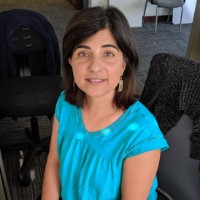 Ritu at the office